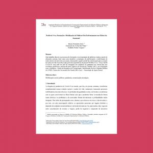 artigo científico Periferia Viva, formação e mobilização de públicos